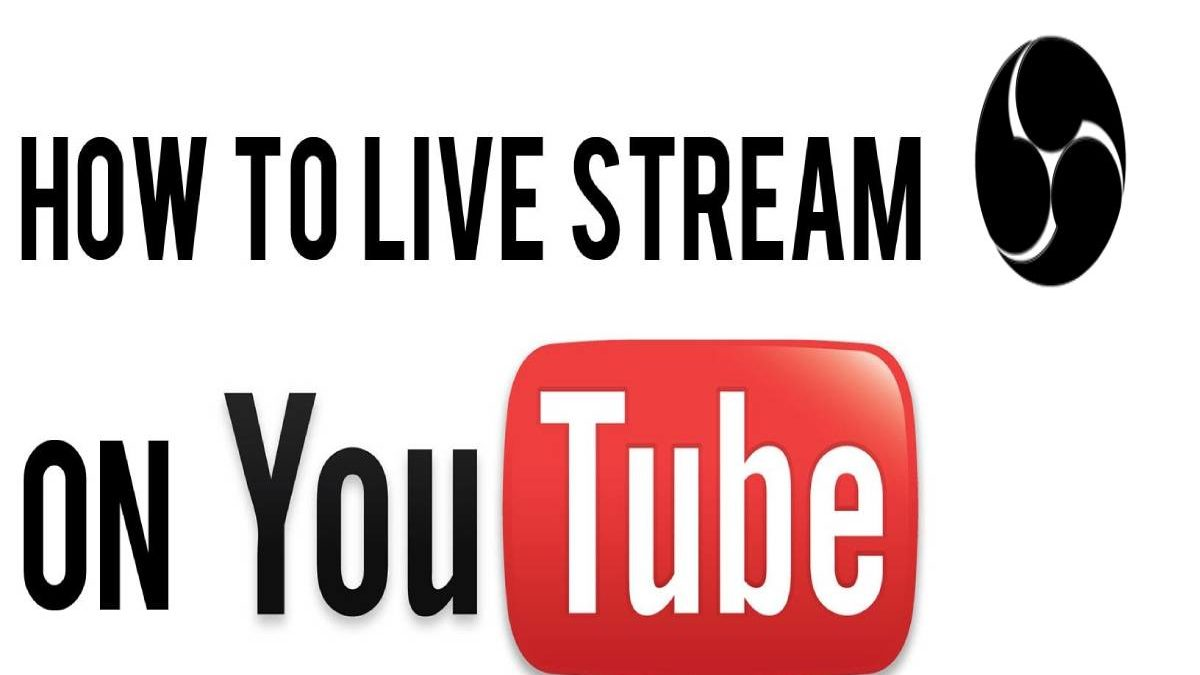 How to Stream Live on YouTube with Open Broadcast Software(OBS)